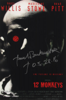 "Paul Buckmaster Signed ""12 Monkeys"" 12x18 Photo Inscribed ""05-28-16"" (AutographCOA Hologram) at PristineAuction.com"