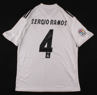 Sergio Ramos Signed Real Madrid Jersey (Beckett COA) at PristineAuction.com