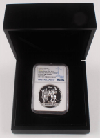 2018 $5 Five-Dollar - Mickey Mouse - 90th Anniversary - 2 Troy oz Silver Coin - Niue - First Releases - Ultra High Relief (NGC PF 70 - Ultra Cameo) at PristineAuction.com