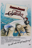 "Cheech Marin & Tommy Chong Signed ""Up In Smoke"" 12x18 Photo Inscribed ""16"" (AutographCOA Hologram) at PristineAuction.com"