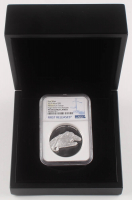 """2019 $5 Five-Dollar - """"Star Wars"""" - Millennium Falcon - 2 Troy oz Silver Coin - Niue - First Releases - High Relief (NGC PF 69 - Ultra Cameo) at PristineAuction.com"""