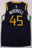 Donovan Mitchell Signed Jazz Jersey (PSA Hologram) at PristineAuction.com