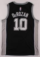 DeMar DeRozan Signed Spurs Jersey (PSA Hologram) at PristineAuction.com