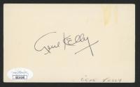 Gene Kelly Signed 3x5 Index Card (JSA COA) at PristineAuction.com