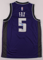 De'Aaron Fox Signed Kings Jersey (PSA COA) at PristineAuction.com