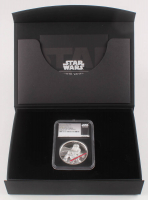 "2017 $5 Five-Dollar - ""Star Wars"" - Darth Vader - 2 Troy oz Silver Coin - Niue - One of First 500 Struck - Ultra High Relief (NGC PF 70 - Ultra Cameo) at PristineAuction.com"