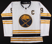 Jack Eichel Signed Sabres Captain Jersey (Beckett COA) at PristineAuction.com