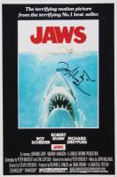 "Joe Alves Signed ""Jaws"" 12x18 Photo with Hand-Drawn Sketch (AutographCOA Hologram) at PristineAuction.com"