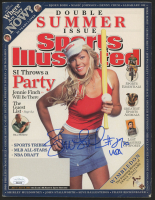 "Jennie Finch Signed 2005 ""Sports Illustrated"" Magazine Inscribed ""USA"" (JSA COA) at PristineAuction.com"