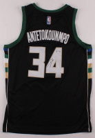 Giannis Antetokounmpo Signed Bucks Jersey (PSA COA) at PristineAuction.com