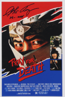 "Sho Kosugi Signed ""Pray for Death"" 12x18 Photo with Inscription (AutographCOA Hologram) at PristineAuction.com"