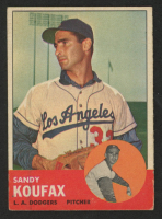 Sandy Koufax 1963 Topps #210 at PristineAuction.com