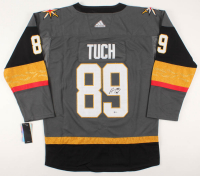 Alex Tuch Signed Golden Knights Jersey (Beckett COA) at PristineAuction.com