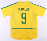 Ronaldo Signed Brazil Jersey (Beckett COA) at PristineAuction.com