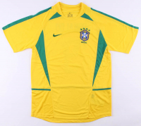 Ronaldo Signed Brazil Jersey (Beckett COA) at PristineAuction.com