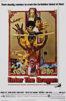 "Lalo Schifrin Signed LE ""Enter the Dragon"" 12x18 Photo (AutographCOA Hologram) at PristineAuction.com"