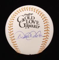 Derek Jeter Signed Gold Glove Award Logo Baseball (JSA LOA) at PristineAuction.com