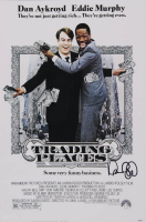 "Dan Aykroyd Signed ""Trading Places"" 12x18 Photo (AutographCOA Hologram) at PristineAuction.com"