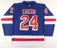 Kaapo Kakko Signed Rangers Jersey (Beckett COA) at PristineAuction.com