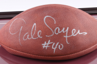 Gale Sayers Signed 16x17.5 Custom Framed Official NFL Football Display (JSA COA) at PristineAuction.com