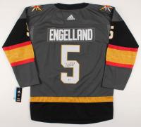 Deryk Engelland Signed Golden Knights Jersey (Beckett COA) at PristineAuction.com
