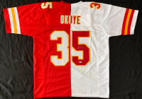 Christian Okoye Signed Jersey (PSA COA) at PristineAuction.com