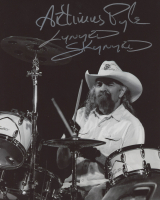 "Artimus Pyle Signed "" Lynyrd Skynyrd"" 8x10 Photo Inscribed ""Lynyrd Skynyrd"" (ACOA Hologram) at PristineAuction.com"