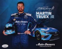 Martin Truex Jr. Signed 8x10 Photo Card (JSA COA) at PristineAuction.com