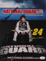 Jeff Gordon Signed 8.5x11 Photo Card (JSA COA) at PristineAuction.com