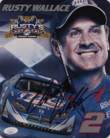 Rusty Wallace Signed 8x10 Photo Card (JSA COA) at PristineAuction.com