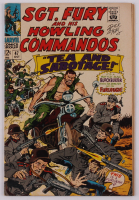"Dick Ayers Signed 1967 ""Sgt. Fury & His Howling Commandos"" #47 Marvel Comic Book (PA LOA) at PristineAuction.com"