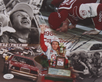 Bill Elliott Signed 8x10 Photo Card (JSA COA) at PristineAuction.com