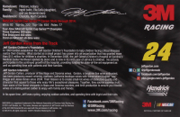 Jeff Gordon Signed 5.5x8.5 Photo Card (JSA COA) at PristineAuction.com