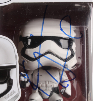 "Kevin Smith Twice-Signed ""Star Wars: The Force Awakens"" First Order Stormtrooper #66 Funko Pop! Vinyl Figure (JSA COA & Beckett Hologram) at PristineAuction.com"
