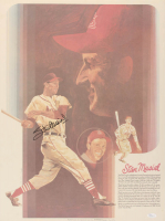 Stan Musial Signed Cardinals 18x24 Coca-Cola Poster (JSA Hologram) at PristineAuction.com