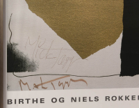 Mick Jagger Signed Andy Warhol 28x40 Custom Framed Print Display (AutographCOA LOA) at PristineAuction.com