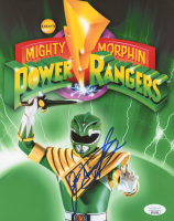 "Jason David Frank Signed ""Power Rangers"" 8x10 Photo (JSA COA) at PristineAuction.com"