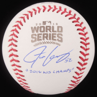 """Justin Grimm Signed 2016 World Series Baseball Inscribed """"2016 WS Champs"""" (JSA COA) at PristineAuction.com"""