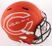 """Dick Butkus Signed Bears Full-Size AMP Alternate Speed Helmet Inscribed """"HOF 79"""" (Beckett COA) at PristineAuction.com"""