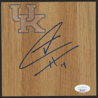 Tyler Herro Signed Kentucky Wildcats 6x6 Vinyl Floor Tile (JSA COA) at PristineAuction.com