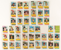 1974 Topps Traded Complete Set of (44) Baseball Cards with #270T Ron Santo, #390T Lou Piniella, #485T Felipe Alou at PristineAuction.com