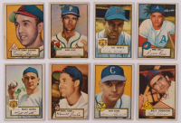 Lot of (16) 1952 Topps Baseball Cards with #87 Dale Coogan, #79 Gerry Staley, #95 Ken Holcombe, #234 Steve Souchock RC, #84 Vern Stephens, #84 Vern Stephens, #58 Bob Mahoney RC at PristineAuction.com