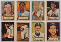 Lot of (16) 1952 Topps Baseball Cards with #61 Tookie Gilbert, #70 Al Zarilla, #71 Tom  Upton RC, #51 Jim Russell, #53 Chris Van Cuyk RC, #46 Gordon Goldsberry RC, #30 Mel Parnell at PristineAuction.com
