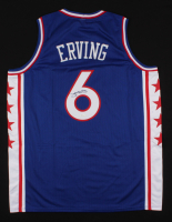 "Julius ""Dr. J"" Erving Signed Jersey (JSA COA) (Imperfect) at PristineAuction.com"