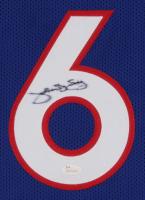 """Julius """"Dr. J"""" Erving Signed Jersey (JSA COA) (Imperfect) at PristineAuction.com"""