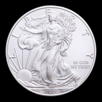 2020 American Silver Eagle $1 One Dollar Coin (Brilliant Uncirculated) at PristineAuction.com