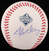 Stephen Strasburg Signed 2019 World Series Baseball (MLB Hologram) at PristineAuction.com