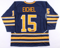 Jack Eichel Signed Jersey (Eichel COA & AJ's Sports World Hologram) at PristineAuction.com