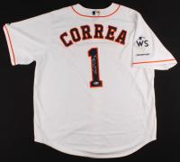 Carlos Correa Signed Astros Jersey (Beckett COA) at PristineAuction.com