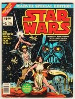 "1977 ""Marvel Special Edition: Star Wars"" Comic Book Issue #1 at PristineAuction.com"